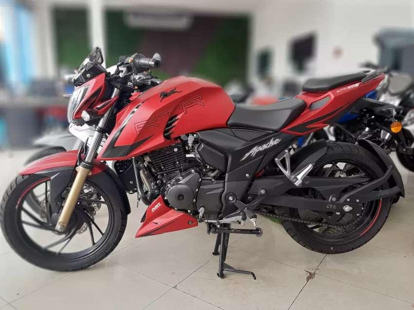 Moto Apache 200. Deportiva.  Imp. CHIMASA Monica 0