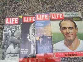 antiguas revistas  Life a color de los años 60