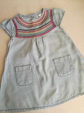 Vestido Importado 2 Años Algodon Urb - Baby Collection