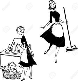 Me ofrezco para tareas domesticas