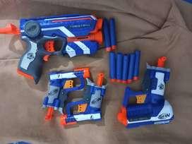 Pistolas nerf, aproveche