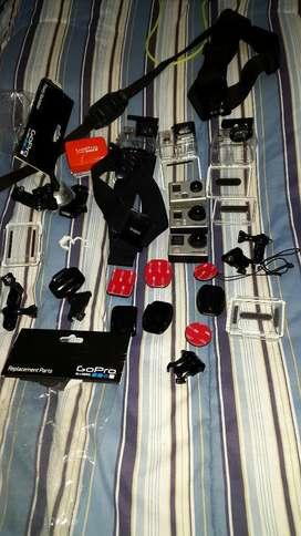 Vendo Go Pro 4 Black Go Pro 3plusblk Y 2