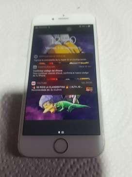 VENDO IPHONE 6 S LIBRE IMPECABLE NO FUNCIONA HUELLA LO DEMAS A LA PERFECCION