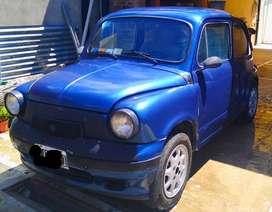 Fiat 600 73 modificado/titular/seguro