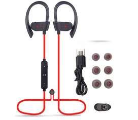 Auricular Audifono 56s Bluetooth 4.1 Deportes Gancho Agua