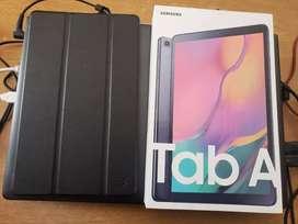 Galaxy tab A 2019 con caja y accesorios