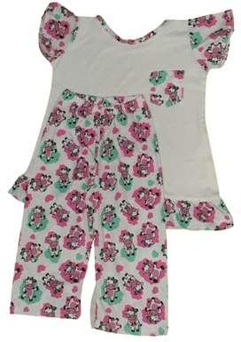 pijama niña Diseño varios talla 8