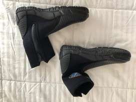 Vendo botas de buceo