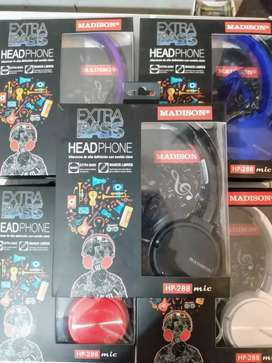 Auriculares madison