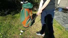 Juego de golf antiguo completo