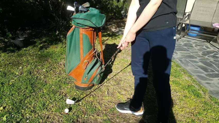Juego de golf antiguo completo 0