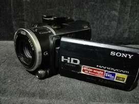 Camara Video Sony Hdr Xr550 240gb Full Hd Bluray