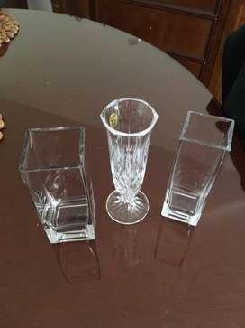 Vasos de cristal fino