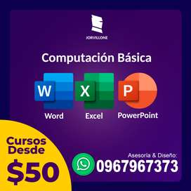 Curso de Word,  Excel y PowerPoint