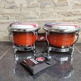 Bongo LP generación II con parche sintetico Remo