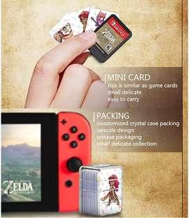 NFC cards amiibo The legend of Zelda BOTW Nintendo Switch