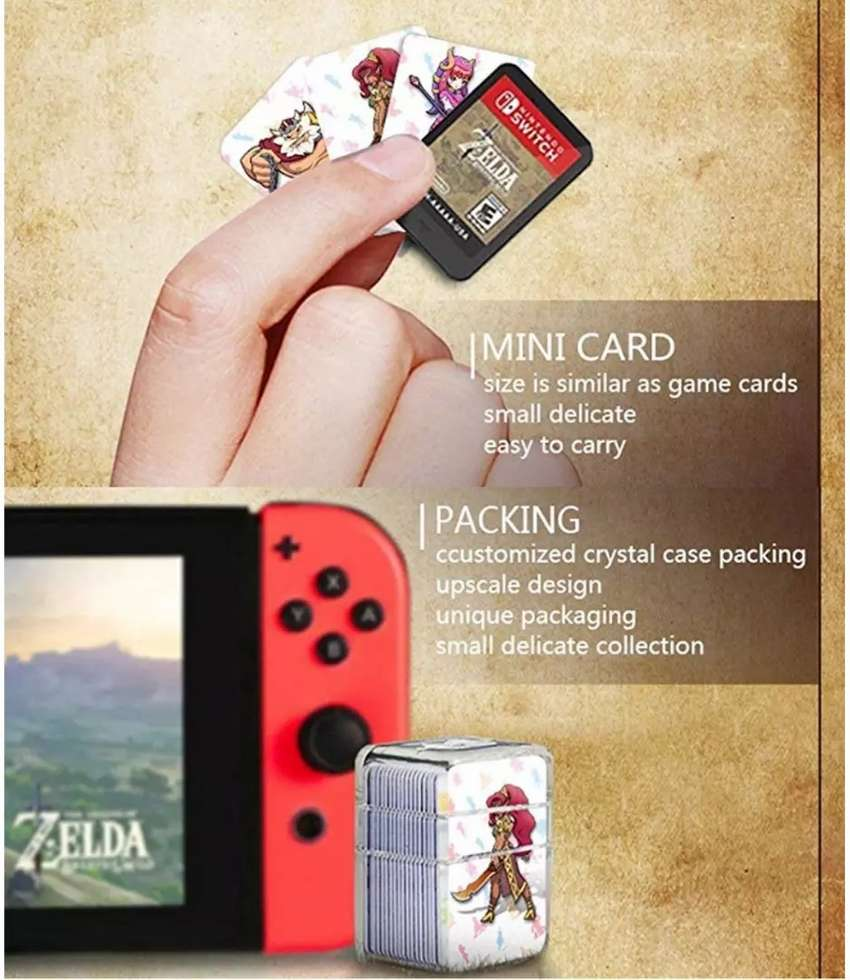 NFC cards amiibo The legend of Zelda BOTW Nintendo Switch 0