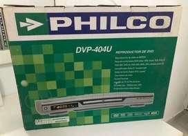 Reproductor de DVD philco