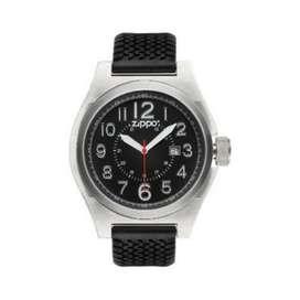 Reloj Deportivo, Correa De Silicona Zippo