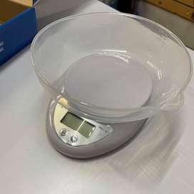 Balanza Digital Electronica De Cocina 5kg con bowl