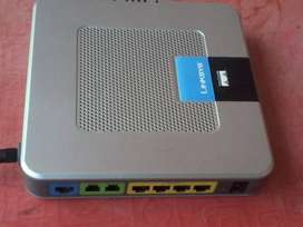 Linksys  Wrtp54g VOIP * 2 LINEAS