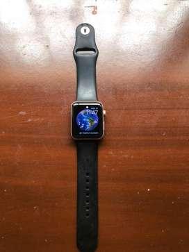 Se vende apple watch serius 3 42 mm