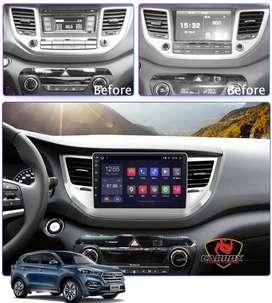 HYUNDAI TUCSON 2015 2018 AUTORADIO ANDROID WIFI GPS CARROX PERU VENDE
