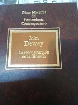 La reconstrucción de la filosofía Dewey