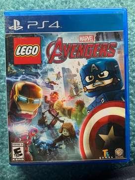 Vendo juego para PS4 Lego marvel avengers (usado)