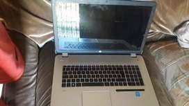 Notbook Hp leap motion 17 i7