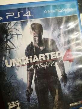 Se vende o se cambia uncharted 4 original