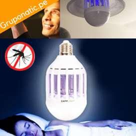 Foco Contra Mosquitos Incluye Luz Led Blanca 15 Watts Gruponatic San Miguel