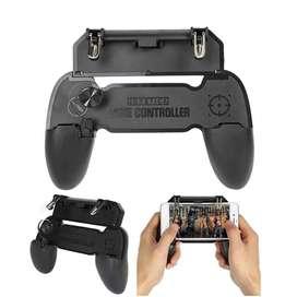 2 Gatillos + Joystick Gamepad Celular Juegos Freefire Pubg M