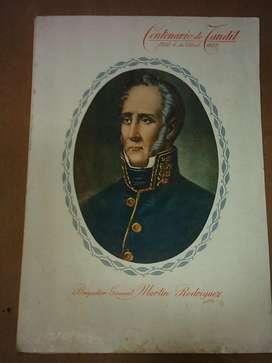 Folleto Homenaje del Centenario de Tandil 1823 1923