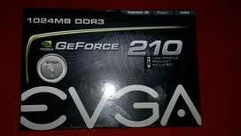 TARJETA DE VIDEO GT 210 1GB USADA PERFECTO ESTADO