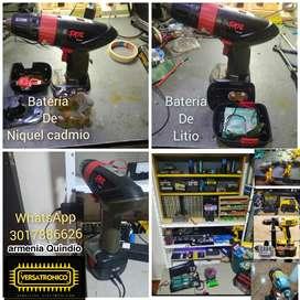 Reparación de taladros inalámbricos y venta de baterías de litio