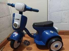 Triciclo musical en forma de moto Marca On Trail Muy buen estado
