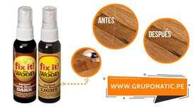 Reparador De Rayones De Madera Fix It Wood Gruponatic San Miguel