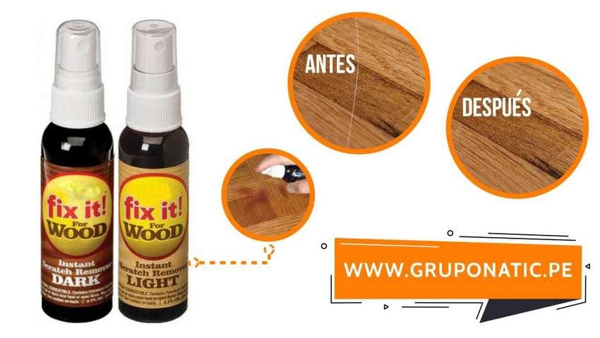 Reparador De Rayones De Madera Fix It Wood Gruponatic San Miguel 0