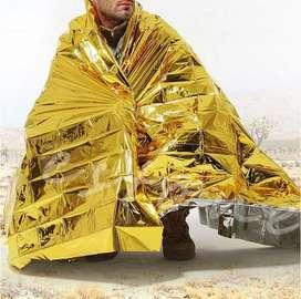 Mantas térmicas de emergencia oro 210x140 oro/plata