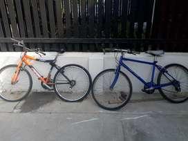 2 Bicicletas Todoterreno para Mantenimiento