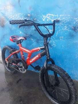 Vendo bicicleta rod 16 en buen estado
