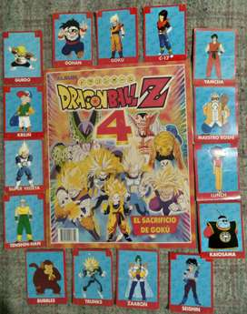 Álbum de figuritas Dragon Ball Z 4