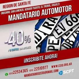 SANTA FE: San Lorenzo, Venado Tuerto y Rosario Gestoria Automotor Matricula Nacional