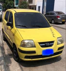 Taxi trabajando papeles al dia hyundai atos