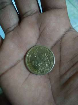 Vendo moneda presidencial de Tomás jeferson