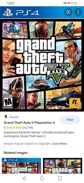 Pelicula Grand Theft Auto 5 ( Play 4  )