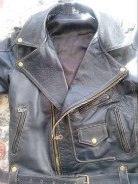 chaqueta 100 % puro cuero