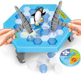 Juego De Mini Pinguinos Hielos Rompecabezas Accesorios Diversion Para Niños