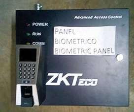 Control ZKTeco USADO, sin Electroimán Acceso Biométrico